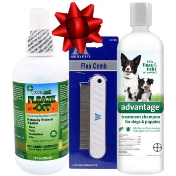 Various Dog Flea Kit