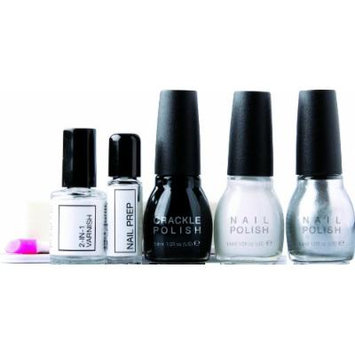Rio Crackle Nail Polish Kit Nail Decoration Collection Classic by Rio