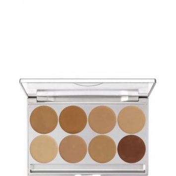 Kryolan 19108 Make-up Palette, 8 Colors - Color Options: Mfc1 & Mfc2 (MFC2)