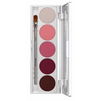Kryolan 9335 SHADES 5 Color Eye Shadow Makeup Palette, 19 color options available (Abu Dhabi)