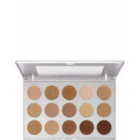 Kryolan 19115: Hd Micro Foundation Cream Palette 15 Colors, Standard (Standard)