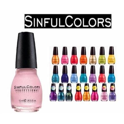 Beautiful Set of 30 Sinful Colors Finger Nail Polish Color Lacquer - Colors Listed below
