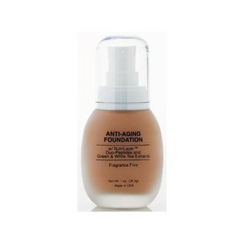 Jolie Anti-Aging Foundation Liquid Makeup W/ Nutrilayer & Duo-Peptides (Pink Sand)