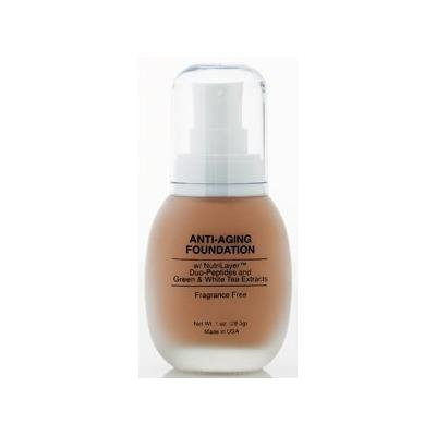 Jolie Anti-Aging Foundation Liquid Makeup W/ Nutrilayer & Duo-Peptides (Vanilla Creme)