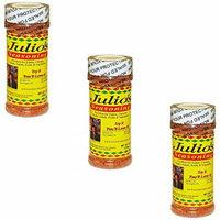 Julio's Season All - Southwest Texas Spice Blend - Three 8 oz Bottles