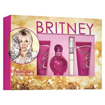 Britney Spears Fantasy Gift Set Women's Perfume - 4pc