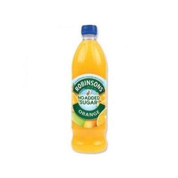 Robinsons Orange No Sugar. Case of 12 X 1 Liter