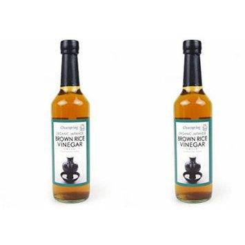 (2 Pack) - Clearspring - Organic Brown Rice Vinegar | 500ml | 2 PACK BUNDLE