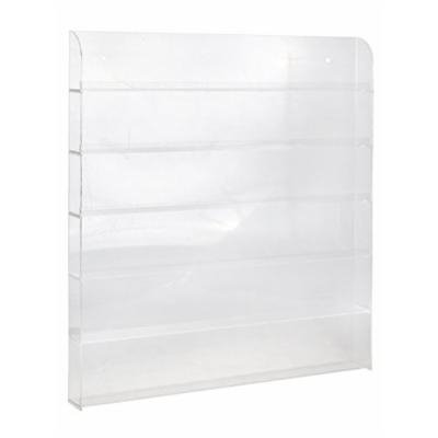 TMS® Large Acrylic Clear Nail Polish Organizer Display Wall Rack Fit 90 to 120 Bottles