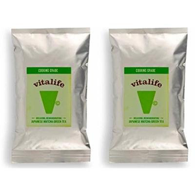 (2 Pack) - Vitalife - Matcha Green Tea cooking grade | 100g | 2 PACK BUNDLE