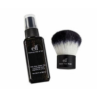 Maven Gifts: e.l.f. Studio Kabuki Face Brush with Makeup Mist and Set, Clear, 2.02 Ounce
