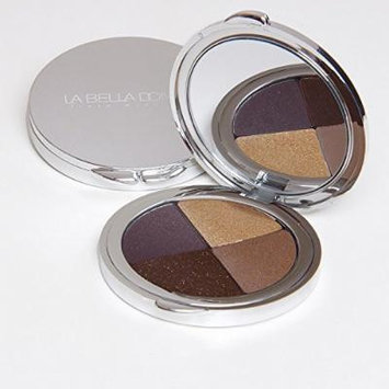 La Bella Donna Eyeshadow Compact Quad - Bella Incanto