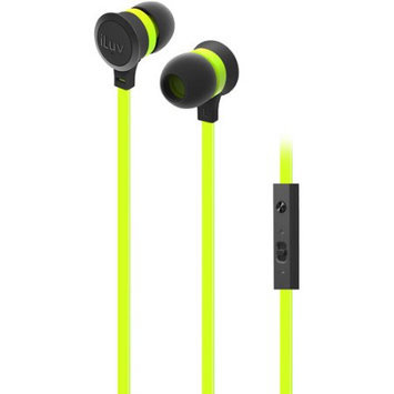 iLuv IEP336GRNN Neon Sound Highperform Earphoneaccs Green