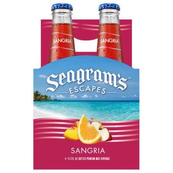 The Seagram Beverage Company Seagram'sâ ¢ Escapes Sangria 4-11.2 fl. oz. Bottles