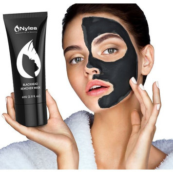 Blackhead Remover Mask [Removes Blackheads] - Purifying Quality Black Peel off Charcoal Mask - Best Mud Facial Mask 60 Gram (2.11 ounce) (Pack of 2)