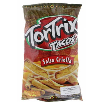 Tortrix Creole Sauce Chips 6.3oz - Salsa Criolla (Pack of 4)