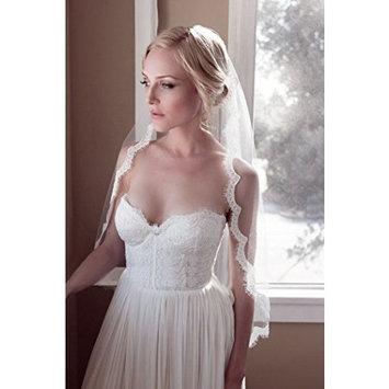 Exquisite Selebrity Bridal Wedding Veil Embellish Lace