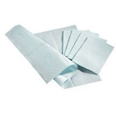 NON24358B - Medline 3-Ply Tissue/Poly Professional Towels,Blue,Not Applicable