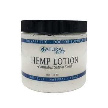 Hemp Lotion - Therapeutic Body Lotion with Hemp Seed Oil