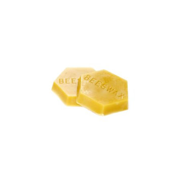 Gentle Bees Premium 1 Pound Block of Beeswax