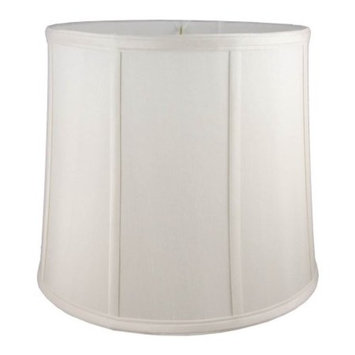 Round Drum Lampshade in Cream