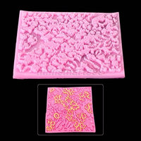 Cacys Store - Lace Mat Fondant Cake Silicone Mold Making Cupcake Decorating Tools Bakeware Confeitaria Kitchen Accessories Cupcake Cake Stand
