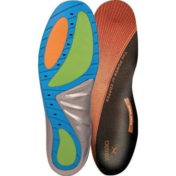 Aetrex Custom Select Series High Arch Orthotics Shoe Inserts for Men and Women - Women's 10