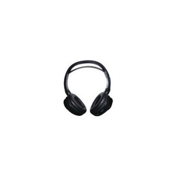 Roadview Concept CDC-IR10 Dual-Channel Headphone - Stereo - Wireless - Infrared - 10 ft - 32 Ohm - 30 Hz 20 kHz - Over-the-head - Binaural - Ear-cup