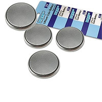 HQRP 4-Pack Coin Lithium Battery for Samsung Smartthings Multipurpose Sensor F-MLT-US-2 + HQRP Coaster