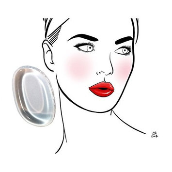 The Exceptional Clear Silicone Makeup Sponge