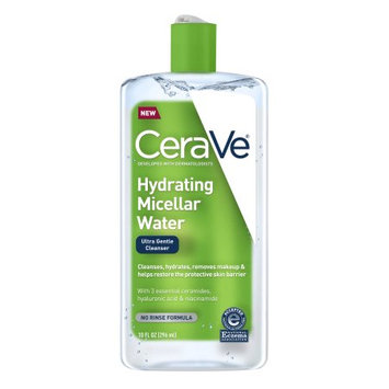 L'oreal Hydrating Micellar Cleansing Water, Ultra Gentle Cleanser, Hydrates & Removes Makeup, 10 oz.