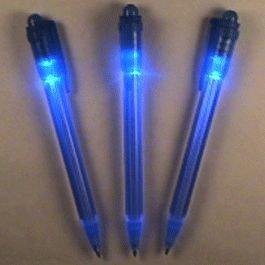 Blinkee Blue Tip Pen with White LED