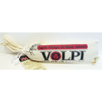 Volpi Aged Asiago Artisan Salami (Pack of 2) 6 oz Chubs