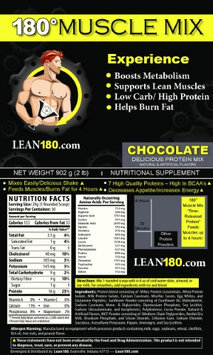 180 Muscle Mix - Choclate-Banana