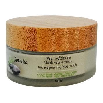 Soi-Bio v202ev 100g Mint & Green Clay Face Scrub