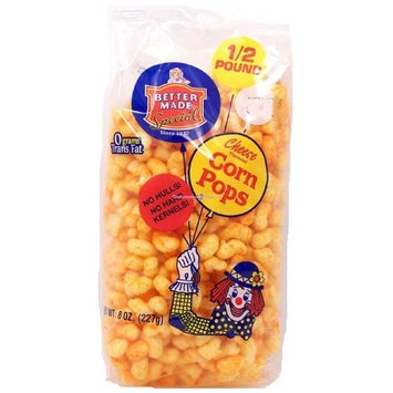 Better Made cheese flavored corn pops, 8-oz. bag