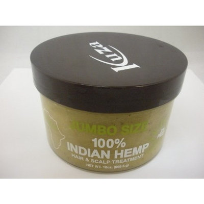 Kuza 100%indian Hemp Hair & Scalp Treatment 18 Oz [SEALED]