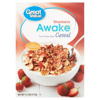Great Value Awake Strawberry Cereal