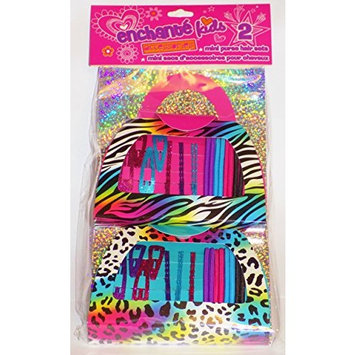 Two Mini Purse Hair Sets For Girls