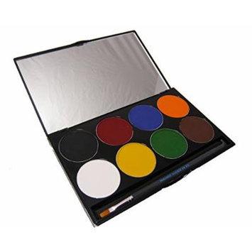 Mehron Professional Paradise Makeup AQ 8 Color Palette, 2.0 Ounce - Basic