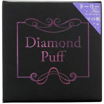 Diamond Beauty Diamond Puff Pressed Powder Dolly Face 9g NIB