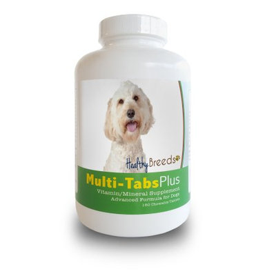 Healthy Breeds 840235140405 Labradoodle Multi-Tabs Plus Chewable Tablets 180 Count
