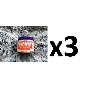 [ VALUE PACK OF 3] BEAUTIFUL TEXTURES RAPID REPAIR DEEP CONDITIONER W ARGAN 15oz : Beauty