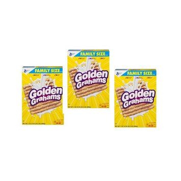 Golden Grahams Cereal 23.5 oz Box (Pack of 3)