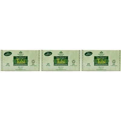(3 PACK) - Organic India - Org Tulsi Original | 25 Bag | 3 PACK BUNDLE