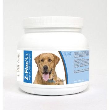 Healthy Breeds 840235109778 Labrador Retriever Z-Flex Max Hip & Joint Soft Chews - 100 Count