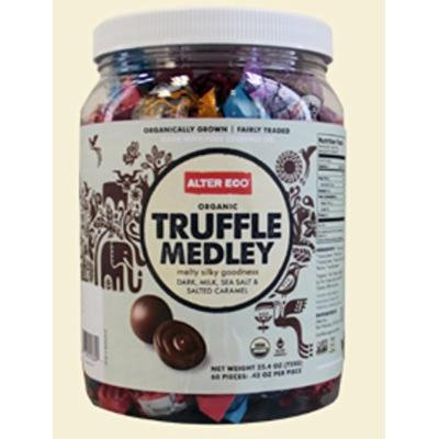 Alter Eco Organic Truffle Medley, 60 Pieces, 720 Grams