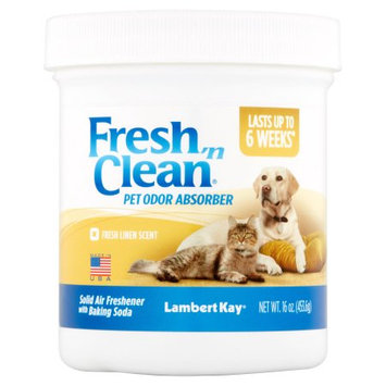 Pbi/gordon Corp Fresh N Clean Pet Odor Absorber Jar Fresh Linen