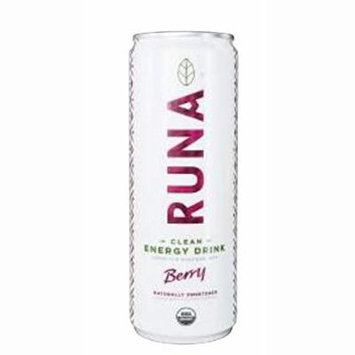 RUNA Clean Energy, Berry , 12 oz (Pack of 12)