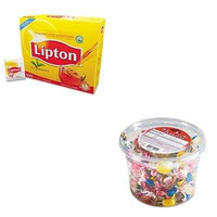 KITLIP291OFX00002 - Value Kit - Office Snax All Tyme Favorite Assorted Candies and Gum (OFX00002) and Lipton Tea Bags (LIP291)